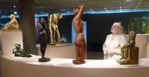 Anne Rivière dans l'exposition au Musée des Années Trente