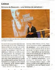 Conférence à la Médiathèque de Lisieux