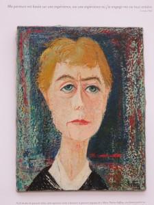 Marie-Thérèse Auffray-Autoportrait, 1958, col. privée